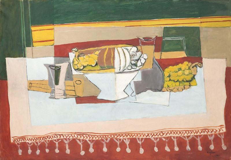 "Henryk Hayden, ""Martwa natura kubistyczna"", 1921 r."
