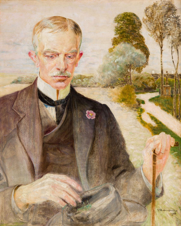 Jacek Malczewski, Portret Karola Potkańskiego, 1906. Muzeum im. Jacka Malczewskiego w Radomiu