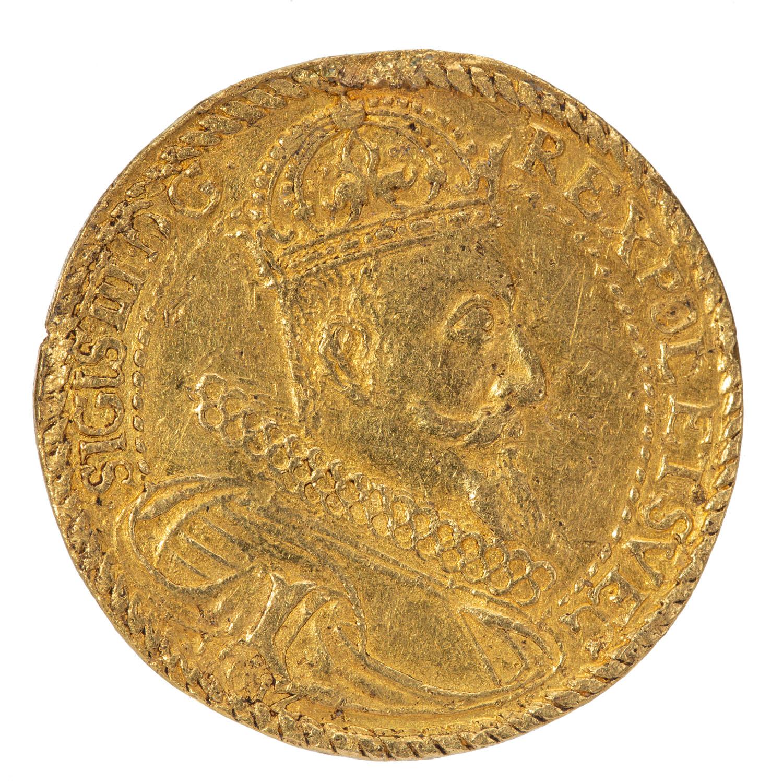 Zygmunt III Waza, czterodukatówka koronna 1612 Mennica Kraków