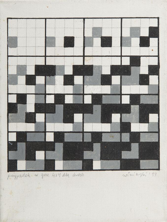 Ryszard Winiarski, Przypadek w grze 4 x 4 dla dwóch, 1999 r.