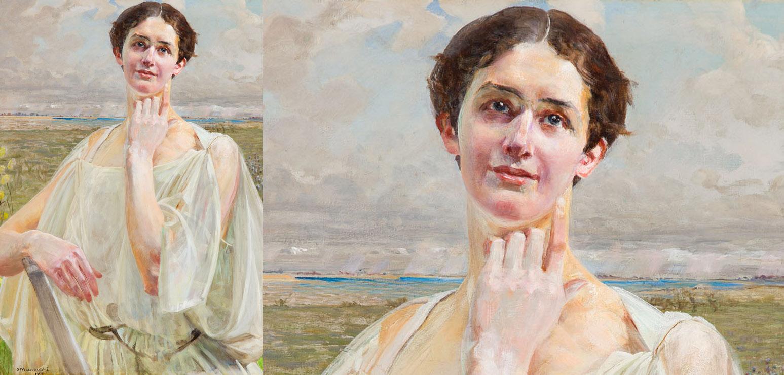 "Jacek Malczewski, ""Spring"", 1914"