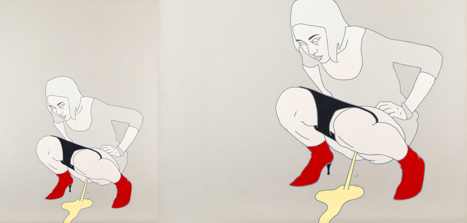"Agata Bogacka, ""Yes"", 2003"