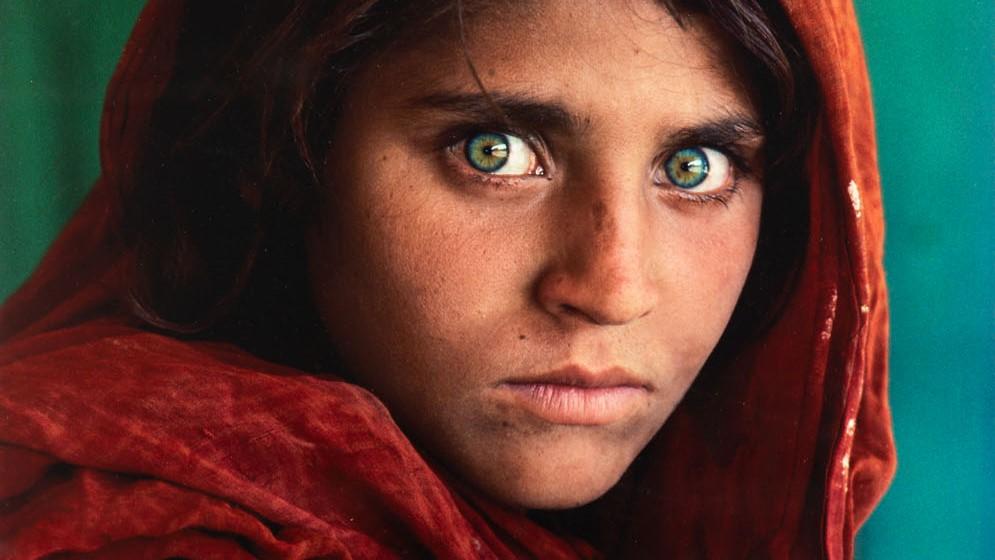Steve McCurry, Afghan Girl, 1984