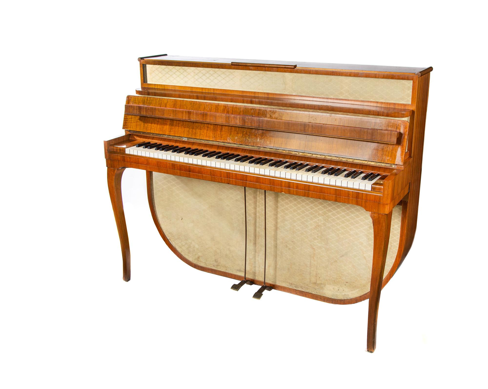Pianino krzyżowe Grotrian Steinweg 1956