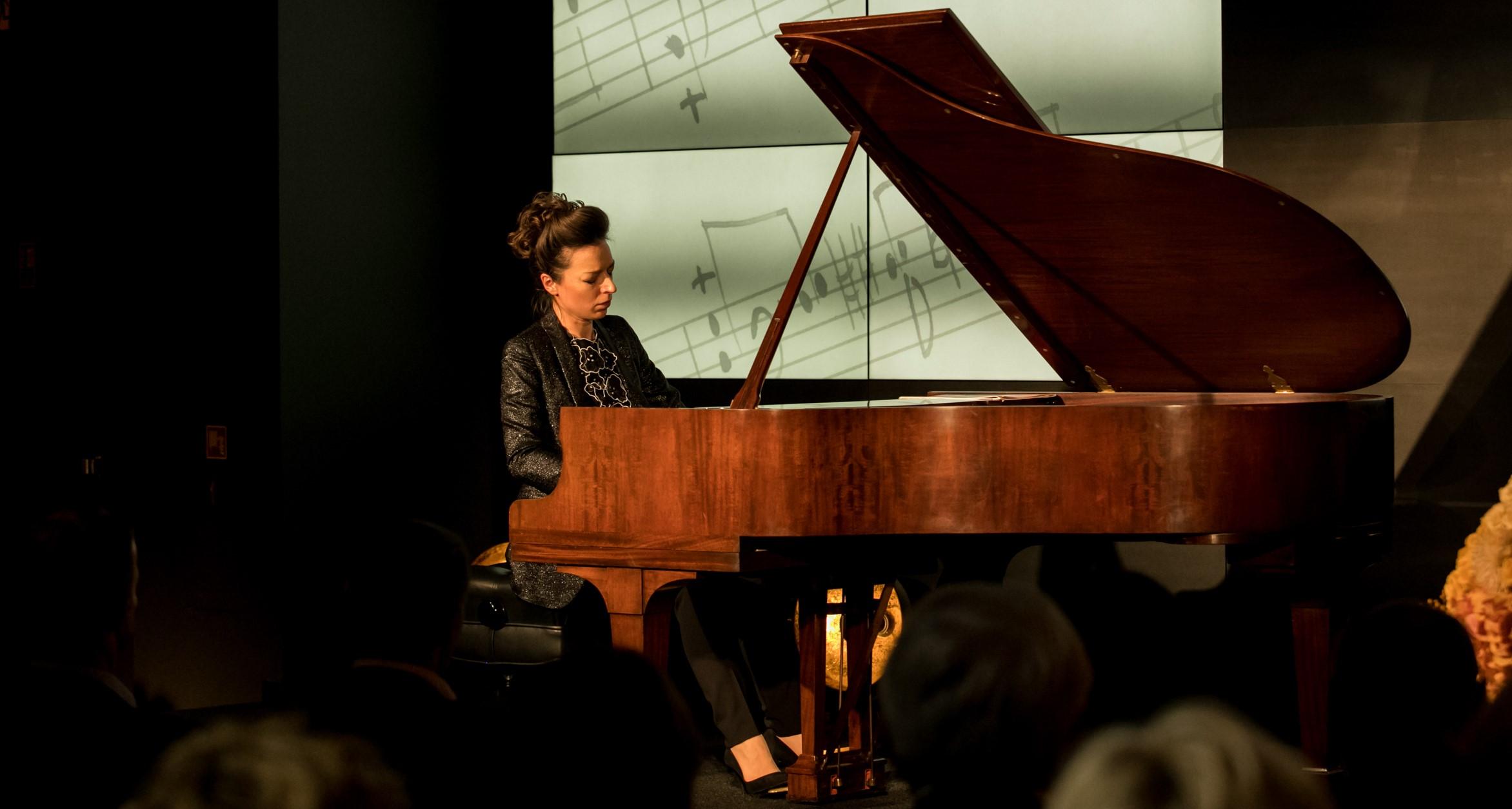 Yulianna Avdeeva, Recital of Władysław Szpilman's works at DESA Unicum