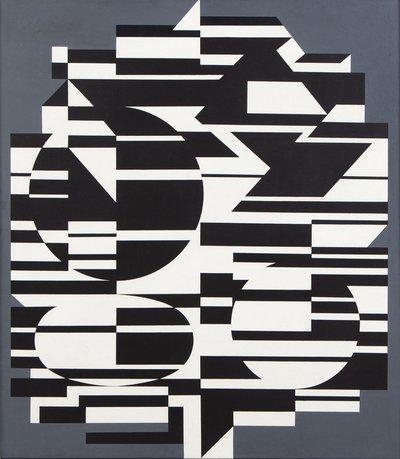 "Victor Vasarely ""Kobe II"", 1953-1972"