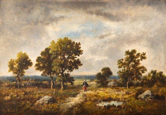 Narcisse Virgilio Díaz De La Peña   Las Fontainebleau